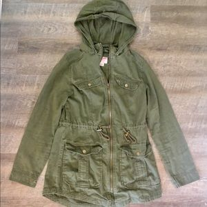 Olive Green Jacket Size M